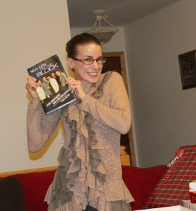Once a New Kids fan, always a New Kids fan! (circa Christmas 2012)